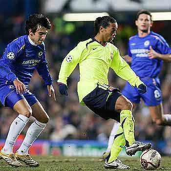 Chelsea 1 – 2 Barça  El partido de la Champions